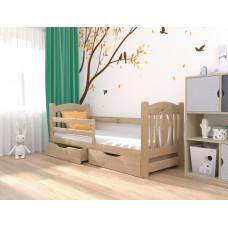 Деревянная  кровать Оскар