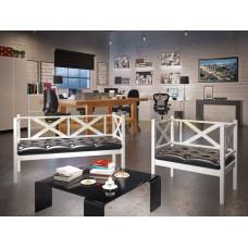 Кресло и диван 2-х местный Грин Трик Лофт