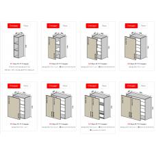 Кухонные модули Luxe/ Люкс Vip Master