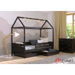 Деревянная кровать домик Амми