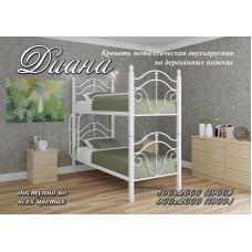 Двухъярусная кровать Диана деревянные ножки
